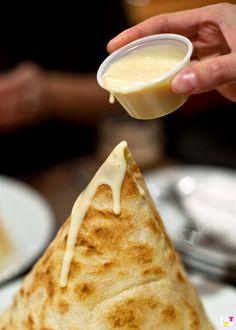 Roti tisu - Mamak Chinatown Sydney
