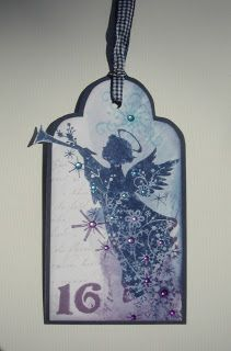 Beautiful Christmas Christmas Tag from Helle