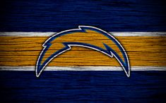 Chargers Nfl, San Diego Chargers, American Football, American Conference, Wooden Textures, Football Wallpaper, National Football League, Logo Emblem, California Usa