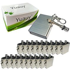 Yuauy 20 Pcs Hiking Emergency Survival Camping Fire Starter Flint Metal Match Lighter ** Continue to the product at the image link.
