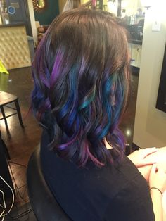 Oil Slick hair by Jessica Cobb at Graphics @ 201
