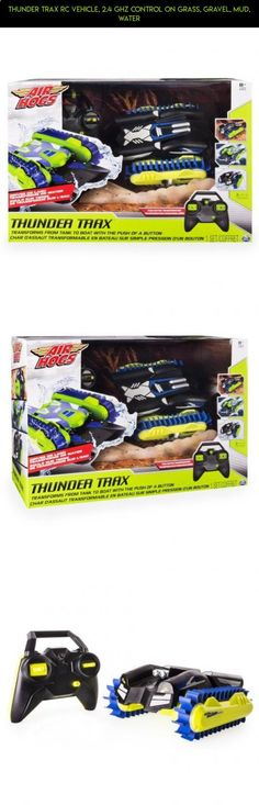 Thunder Trax RC Vehicle, 2.4 GHZ Control on Grass, Gravel, Mud, Water #air #fpv #parts #tech #camera #hogs #drone #technology #racing #shopping #boat #plans #products #gadgets #kit