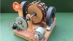 How to Make Free Energy Generator using Powerful DC Motor - Experiment a...