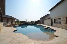 Outside Oasis built by Sapphire Custom Homes#SapphireCustomHomes#CustomHomeBuilder#Remodel#Outdoors#Pizza##OutdoorPool#Pool#Barbecue#Poolside#Acreage#Texas#RealEstate#RusticHome#Farmhouse