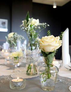 romantische Hochzeitsdekoration