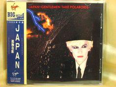 CD/Japan- JAPAN Gentlemen Take Polaroids w/OBI RARE VJCP-23055 David Sylvian #NewWaveSynthPop
