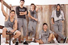Dolce & Gabbana Autumn/Winter 2012 Gym & Sportswear Men's Lookbook   FashionBeans.com