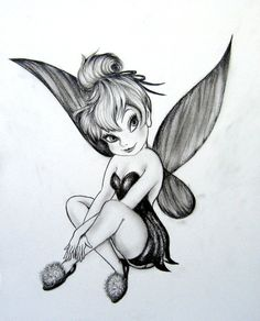 Tattoo Idea! (In memory of my sister susan, she loved tink).