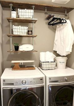Cool Small Laundry Room Design Ideas (30)