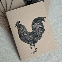 Recycled Note Cards   Kraft Paper Card Set  by thecraftpantry, $9.50