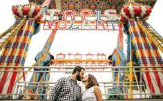 Pré-Casamento - Parque de Diversões
