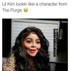 Lol they wrong but it's true! She used to be so pretty!