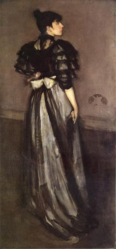 The Athenaeum - Mother of Pearl and Silver: The Andalsiian (James Abbott McNeill Whistler - 1888-1900)