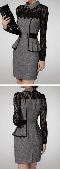 Best Ideas how to wear black skirt classy work outfits Classy Work Outfits, Cool Outfits, Skirt Outfits, Trendy Fashion, Women's Fashion, Fashion Design, Fashion Shoes, Weird Fashion, Classy Fashion