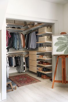 » BARNHOUSE RENOVATION | Master Closet makeover