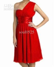 Wholesale Bridesmaid Dress -  One Shoulder Sweetheart Sexy Elegant Bridesmaid Dress Prom Dress Party Dress, $51.0   DHgate