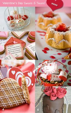 Sweet Treats and Favors for a Valentine's Wedding