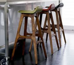 natural modern interiors: Kitchen & Dining Room Design Ideas :: Stools