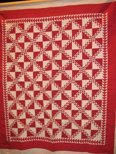 Red and White Quilts from Infinite Variety Exhibit in NYC March 2011