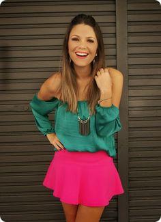 Alana Sanos Blogger Trend: blusa ciganinha