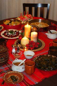 Bulgarian Christmas Eve http://food.anniesartbook.com/2011/12/bulgarian-christmas-eve-soda-bread.html