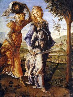 Sandro Botticelli - Renaissance - Le Retour de Judith - 1470