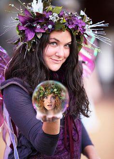 Zinnia's Magic Fairy Bubble by gbrummett, via Flickr