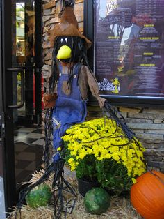 Whimsical Fall Displays -- Jubilee Conference, Gatlinburg, TN