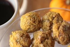 Soft Pumpkin Cookies - These gluten free cookies are vegan and sugar free too! They taste like Enjoy Life Cookies!