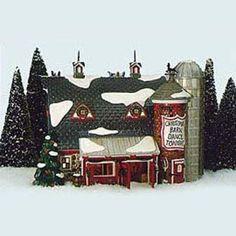 Dept. 56 Original Snow Village Christmas Barn Dance