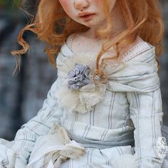 Детали  кукольного  костюма.