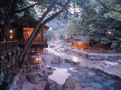 Takaragawa Onsen Osenkaku | Takara River Hot Spring | Gunma Prefecture | North Kanto |