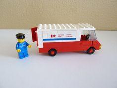 Vintage Lego Canada Post Delivery Van  Set 105 by vintagememory, $50.00