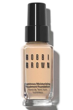 """For a fresh, no makeup finish or if you have dry skin, Barose says to try a liquid foundation with light reflective pigments. """"I love ones that set to a velvety finish without looking too dewy at first, which could quickly wear away,"""" he says.  Bobbi Brown Luminous Moisturizing Treatment Foundation, $52, sephora.com.   - HarpersBAZAAR.com"""
