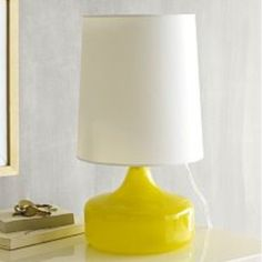 Yellow Décor/ Decorating with Yellow Ideas| Yellow Lamp