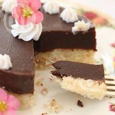 Gluten free vegan chocolate coconut cake @ allrecipes.co.uk