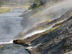 Fishing the Firehole (Yellowstone NP)