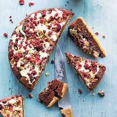 Cranberry-Schokokuchen Rezept | Küchengötter