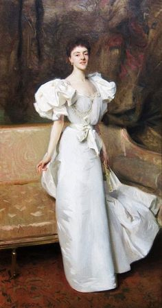 It's About Time: Women in White & Summer Elegance by John Singer Sargent (1856-1925)