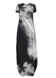 Julia Janus long dress with unique print