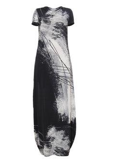 Julia Janus long dress with unique print