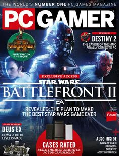 PC Gamer brings you in-depth previews, exclusive feature stories, and the most hard-hitting reviews every month in the world's best-selling PC games magazine! Every month you'll get the inside scoop on the most exciting games in every genre from first-person shooters to MMORPGs and cutting-edge games from independent developers, along with detailed strategy guides, how-tos, and the latest news on mods and PC gaming hardware from the best-known authorities in PC gaming. PC Gamer helps you get the Pc Gamer Magazine, Agents Of Mayhem, Name Games, Pc Games, Creative Assembly, Computer Internet, First Person Shooter, Magazine Articles, Print Magazine