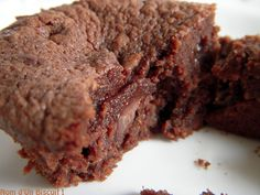 Fondant Chocolat Sans Gluten - Version Sans Produits Laitiers - Nom d'Un Biscuit ! (3)