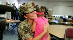 El Cajon preschooler receives surprise homecoming from deployed Navy mom - http://www.militarysurprise.com/el-cajon-preschooler-receives-surprise-homecoming-from-deployed-navy-mom/