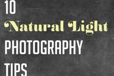 Bunch of photography tips, lots of portrait photography stuff