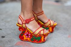 25 Bright Street Style Snaps From Day Six of NYFW - NYFW Spring 2014 - Racked National