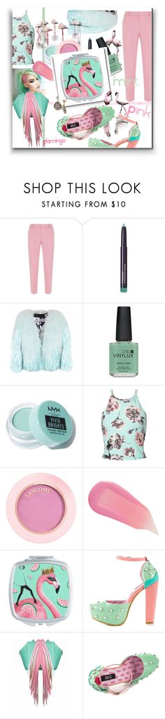 """""""The Mint Pink Flamingo"""" by kelly-floramoon-legg ❤ liked on Polyvore featuring Mint Velvet, By Terry, Florence Bridge, CND, NYX, Miss Selfridge, Lancôme, Marc Jacobs, Iron Fist and The Volon"""