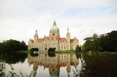Hannover Germany, New Town Hall