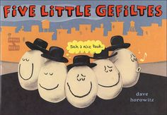 Five Little Gefiltes .....Seems like a bit of a fishy tail to us!