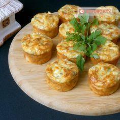 Brioșe aperitiv cu piept de pui și cașcaval: rapid și mega delicios. - savuros.info